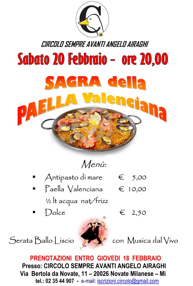 sagra paella